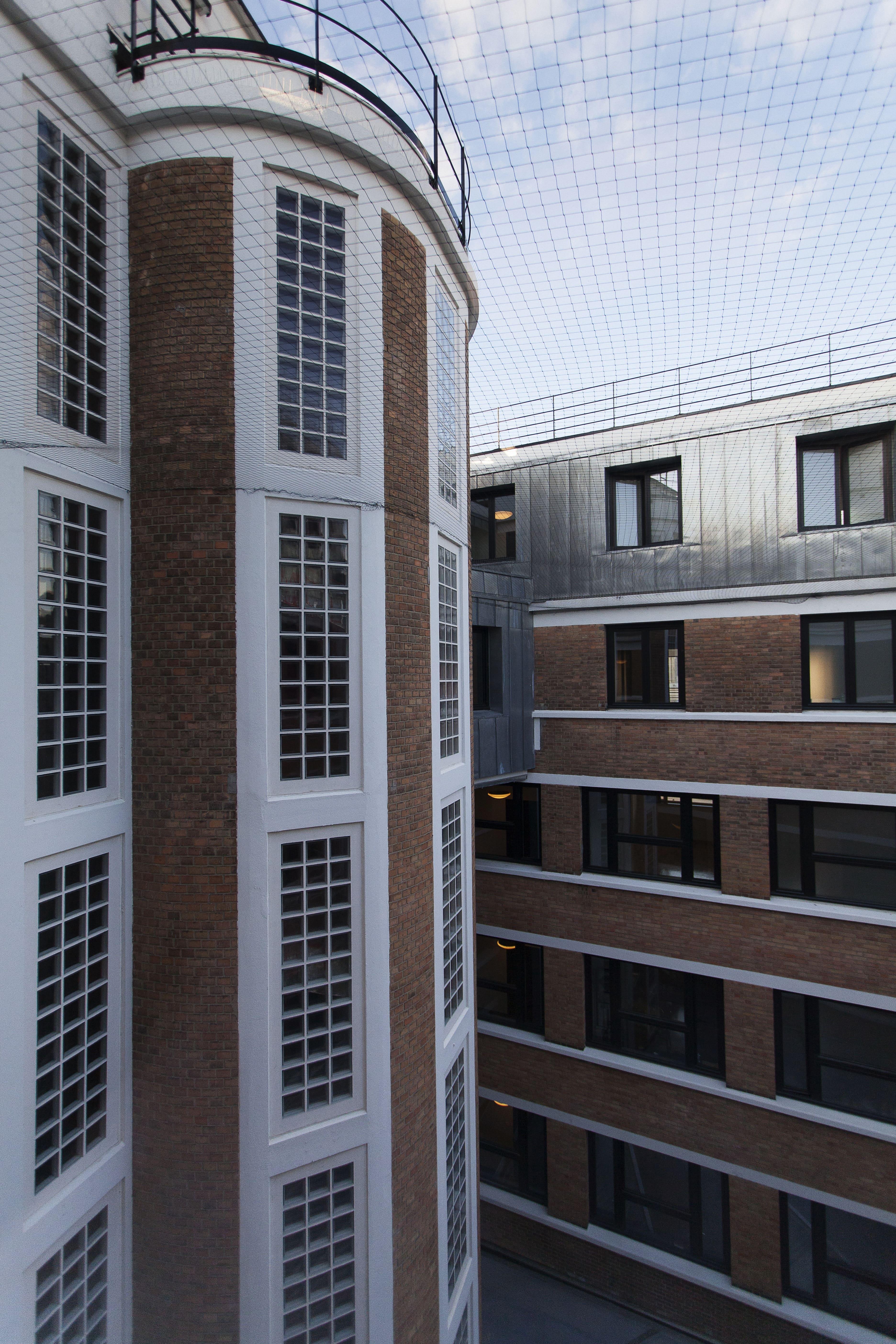 Photo d'immeubles comportant des logements sociaux